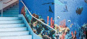 Gạch mosaic gốm - NK