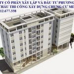 xây chung cư mini cho thuê
