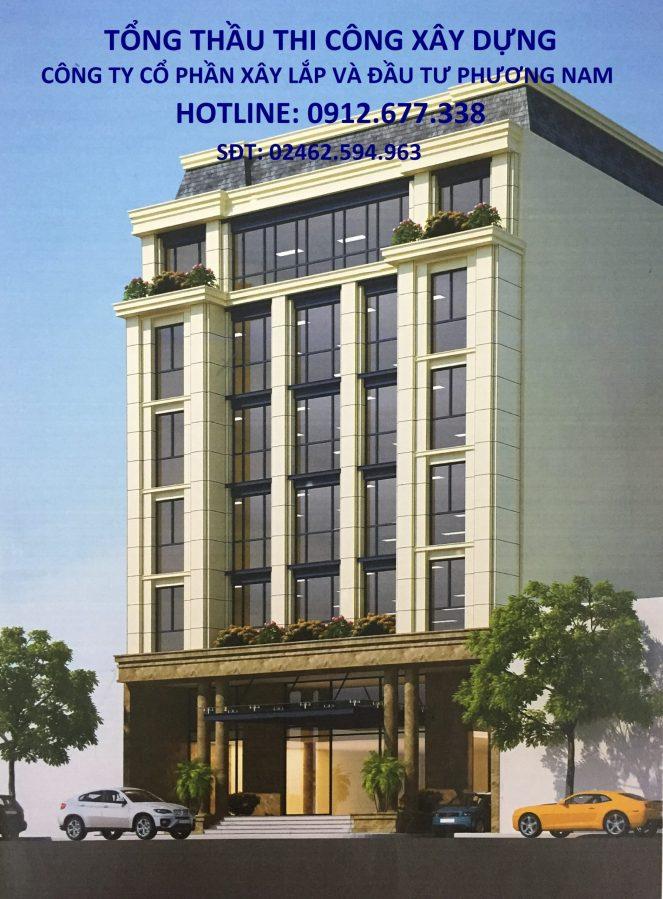 xây dựng tòa nhà văn phòng